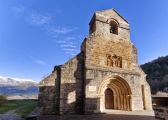 Santa Maria de Piasca. Picos de Europa. Cantabria.