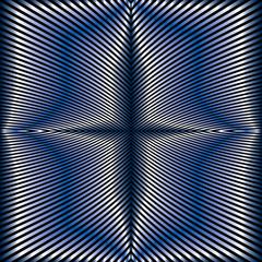 Foil stripes geometric seamless pattern.