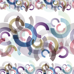 Abstract horizontal seamless pattern.