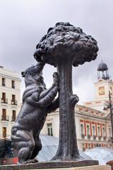 El Oso y El Madrono Statue Madrid Symbol