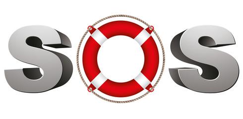SOS symbol.