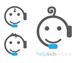 Help kids phone logo