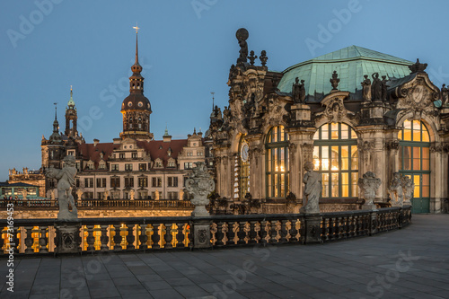 canvas print picture Dresden Zwinger
