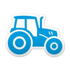 Pegatina simbolo tractor