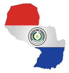 Flag of the Republic of Paraguay