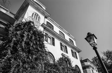 Italy, Liguria, Le Cinque Terre, Monterosso, old building