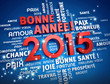 Obrazy na płótnie, fototapety, zdjęcia, fotoobrazy drukowane : 2015 carte de voeux