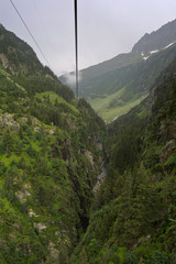from the cableway