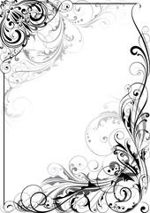 Ornament floral design