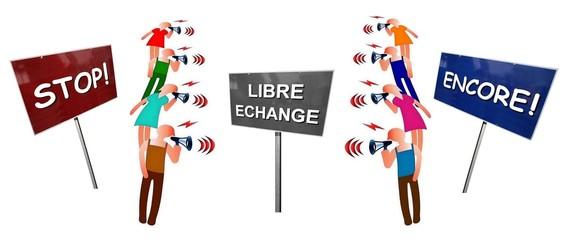 """Débat """"Libre échange Stop ou Encore"""""""