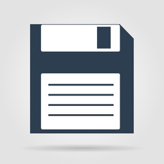 Vector floppy disk icon