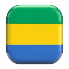 Gabon flag icon image