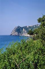 Italy, Liguria, Le Cinque Terre, Corniglia, view of the coast