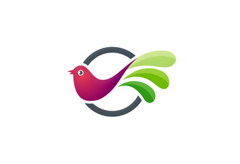 bird vector logo