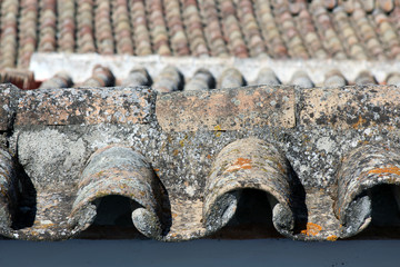 Photo of rural roof