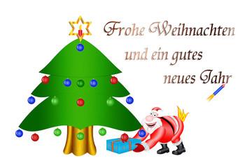 humorvoller Weihnachtsgruß
