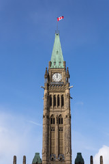 Peace Tower of Canadian Parliament