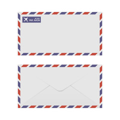 Airmail Envelope Front & Back