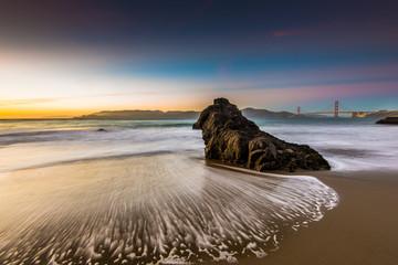 Golden Gate Bridge from China beach
