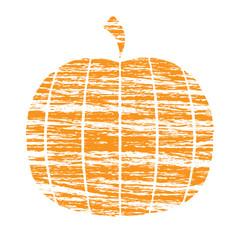 Crayon Pumpkin