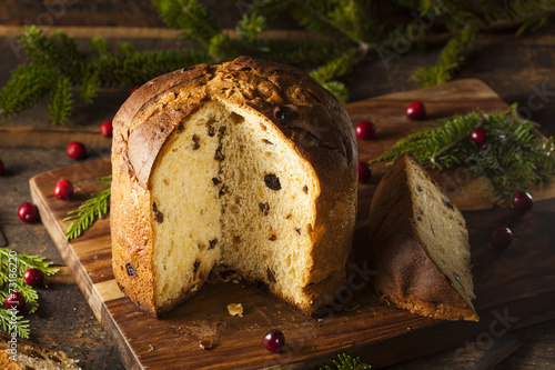 Papiers peints Biscuit Homemade Panettone Fruit Cake