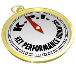 Key Performance Indicators KPI Compass Directing Measurement Res