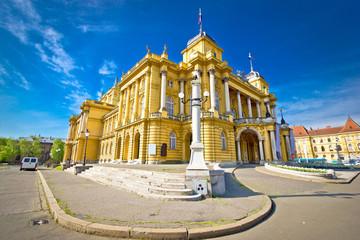 Croatian national theater of Zagreb
