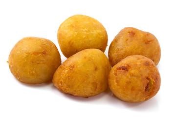 Deep-fried sweet potato balls