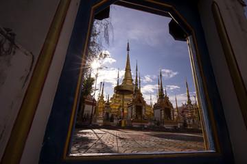 Temple Phra Boromthat, Province Tak, Thailand