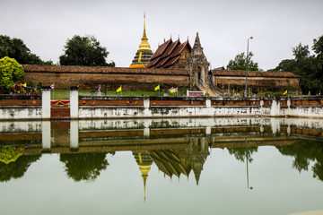 Wat Phra That Lampang Luang,famous temple in Lampang,Thailand