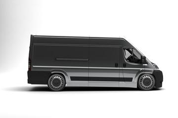 3d render of transport Vehicles