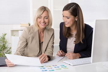 Kaufmännische Angestellte: Business Frauen in Führungspositionen