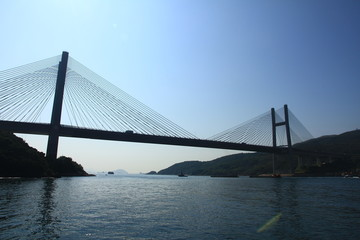 Suspension Bridge, Hong Kong