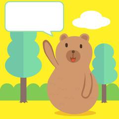 Bear talk