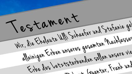 titel: vmg5 VollMachtGrafik - Testament - 16 zu 9 g2537
