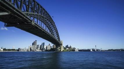 Sydney Harbour bridge hyperlapse