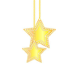 Christmas and Christmas tree decorations in the shape of a star
