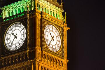 Big Ben at night London United Kingdom uk