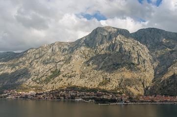 Mountains near Kotor city.  Montenegro