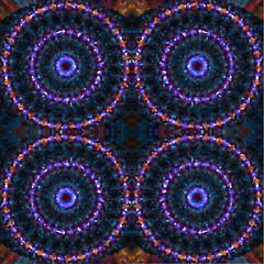 mosaic mandalas background