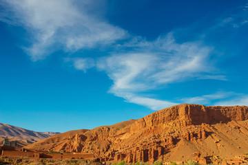 モロッコの荒野