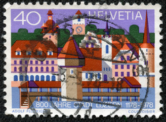 800th anniversary of the town of Lucerne