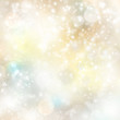 canvas print picture - Licht Hintergrund Schnee