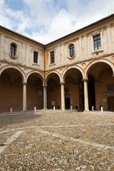 Perugia - San Pietro cloister, Umbria, Italy