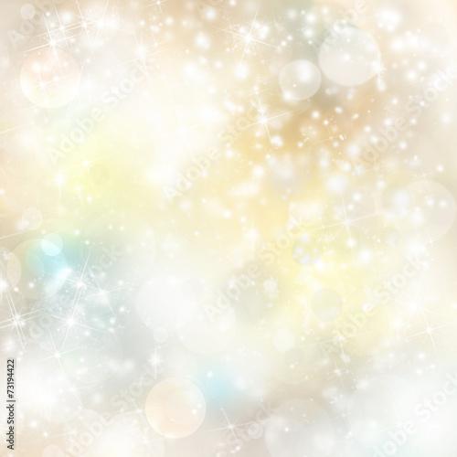 canvas print picture Licht Hintergrund Schnee