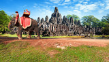 Cambodia, Siem Reap, Angkor wat khmer temple