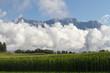 canvas print picture - Wolken im Hochgebirge - Tirol