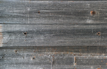 old wooden planks with remnants of paint