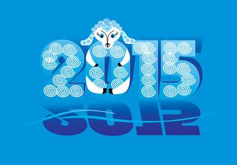 sheep - a symbol of 2015