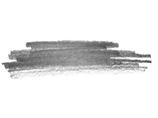 grunge graphite pencil texture isolated on white background